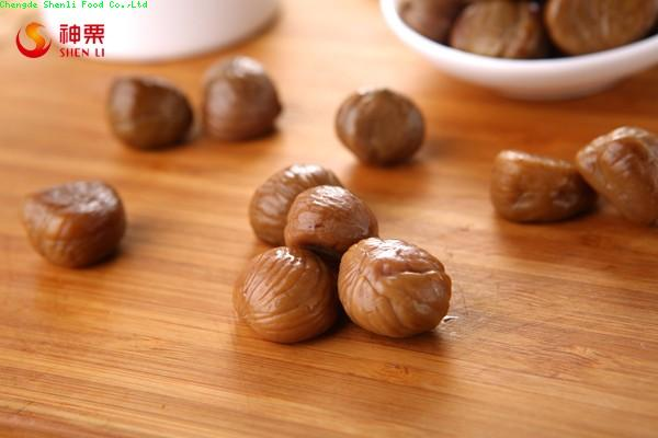 2015 Hot sales peeled chestnuts