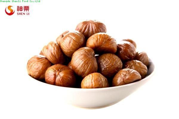 Roasted Peeled Chestnuts Snacks