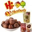Food for ringent chestnuts