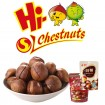 Organic food for roasted ringent chestnut